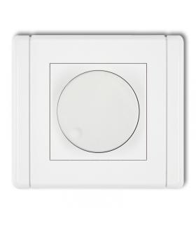 FLEXI Elektroniczny regulator oświetlenia przyciskowo-obrotowy do lamp LED Karlik FRO-2
