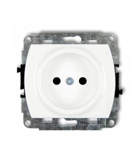 FLEXI Mechanizm gniazda pojedynczego bez uziemienia 2P (przesłony torów prądowych) Karlik GP-1p