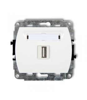 TREND Mechanizm gniazda pojedynczego USB-AA 2.0 Karlik GUSB-1