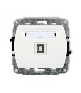 TREND Mechanizm gniazda pojedynczego USB-AB 2.0 Karlik GUSB-3