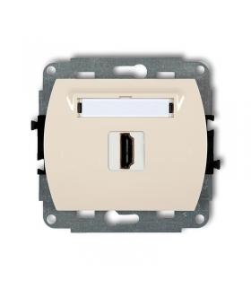 TREND Mechanizm gniazda pojedynczego HDMI Karlik 1HDMI-1