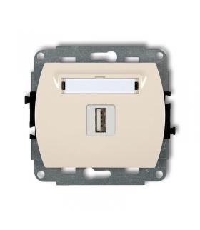 TREND Mechanizm gniazda pojedynczego USB-AA 2.0 Karlik 1GUSB-1