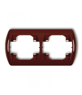 TREND Ramka pozioma podwójna Karlik 4RH-2