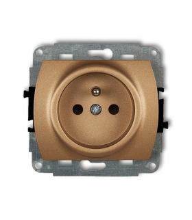 TREND Mechanizm gniazda pojedynczego z uziemieniem 2P+Z (przesłony torów prądowych) Karlik 8GP-1zp