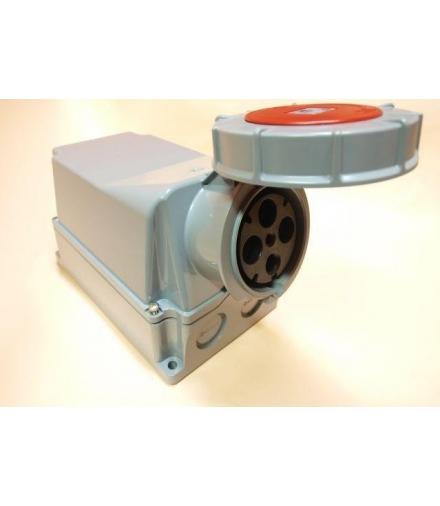 GNIAZDO 125A 380V 3P+Z IP67 (125x4)