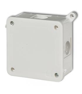 PUSZKI Puszka instalacyjna hermetyczna bez złączek 100x100mm Karlik PHS-5