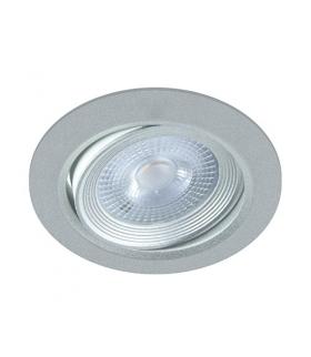 Sufitowa oprawa punktowa SMD LED MONI LED C 5W 3000K SILVER IDEUS 03227