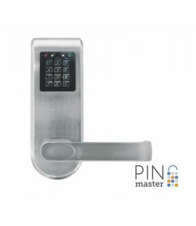 SZYLD Z KONTROLĄ DOSTĘPU EURA ELH-92B9 SILVER PINMASTER z funkcją otwierania kodem PIN wysyłanym przez SMS