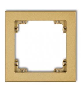 DECO Ramka uniwersalna pojedyncza z tworzywa Karlik 29DR-1