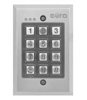 ZAMEK SZYFROWY EURA AC-08A1 - 3 wyjścia, podtynk, Wiegand, przycisk dzwonka