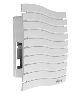 GONG DRZWIOWY DWUTONOWY EURA DB-80G7 ~230V AC jasnoszary, przycisk DBA-10G7 w zestawie