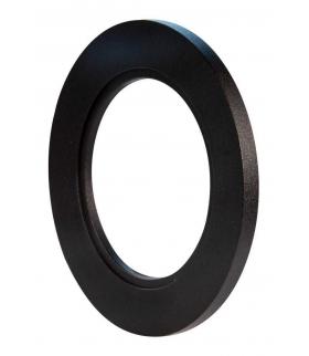 Ramka LED KONEKTO okrągła czarna LSR-CO-X1 Zamel