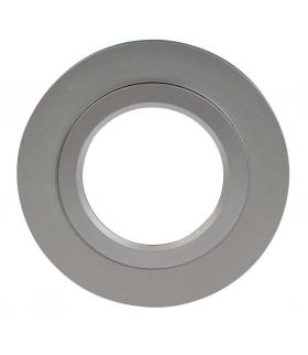 Ramka LED KONEKTO okrągła srebrna LSR-SO-X1 Zamel
