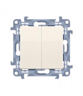 Łącznik świecznikowy do wersji IP44 kremowy 10AX CW5B.01/41