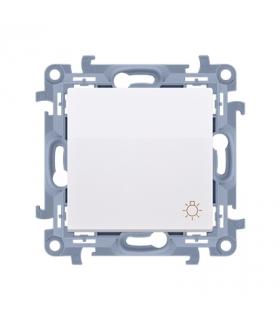 """Przycisk """"światło"""" biały 10AX CS1.01/11"""