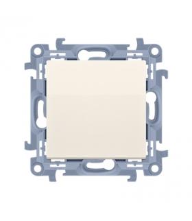 Przycisk pojedynczy zwierny bez piktogramu kremowy 10AX CP1.01/41