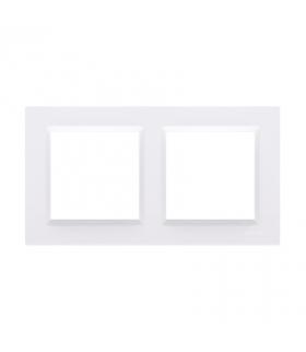 Ramka 2- krotna biały CR2/11