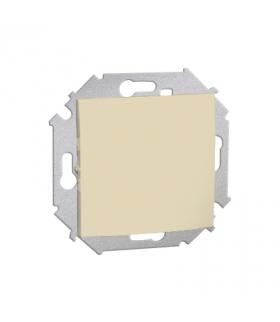Łącznik jednobiegunowy (moduł) 16AX 250V, zaciski śrubowe, beżowy 1591101-031