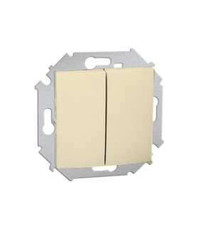 Łącznik świecznikowy (moduł) 16AX 250V, zaciski śrubowe, beżowy 1591398B-031