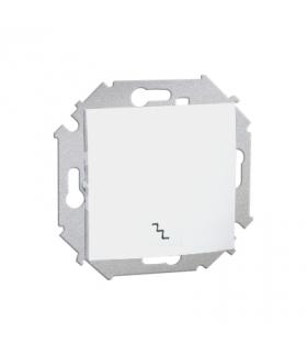 Łącznik schodowy (moduł) 16AX 250V, zaciski śrubowe, biały 1591201-030