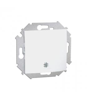 Łącznik krzyżowy (moduł) 16AX 250V, zaciski śrubowe, biały 1591251-030