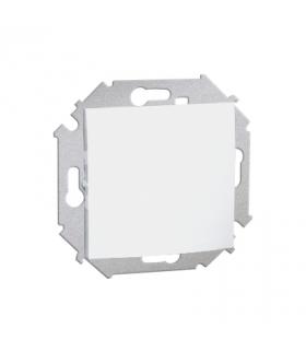 Przycisk pojedynczy zwierny bez piktogramu (moduł) 16AX 250V, zaciski śrubowe, biały 1591150-030