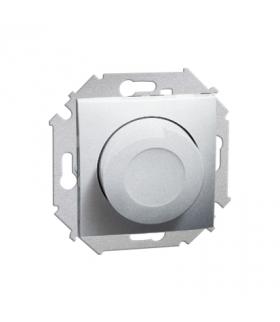 Ściemniacz naciskowo-obrotowy aluminiowy, metalizowany 1591311-026