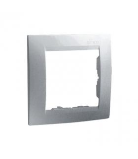 Ramka 1- krotna aluminiowy, metalizowany 1501610-026