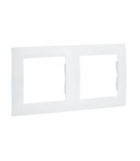 Ramka 2- krotna biały 1501620-030