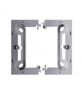 Puszka natynkowa 1-krotna aluminium mat, metalizowany PSC-026