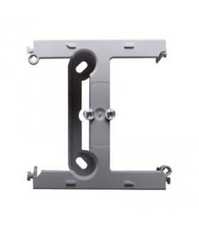 Puszka natynkowa – element rozszerzający puszkę pojedynczą składaną do ramek wielokrotnych aluminium PSH-026