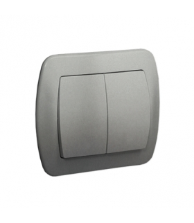Łącznik świecznikowy aluminiowy, metalizowany 10AX AW5/26