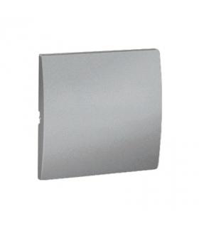 Klawisz pojedynczy do łączników i przycisków aluminiowy, metalizowany MKW1/26
