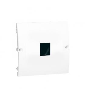 Gniazdo telefoniczne pojedyncze RJ11 biały MTU.01/11