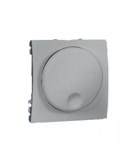 Ściemniacz naciskowo-obrotowy aluminiowy, metalizowany MS9T.01/26