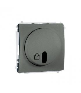WYCOFANY Z OFERTY - Dostępny do wyczerpania zapasów magazynowych, ściemniacz zdalnie sterowany z symulatorem obecności grafitowy