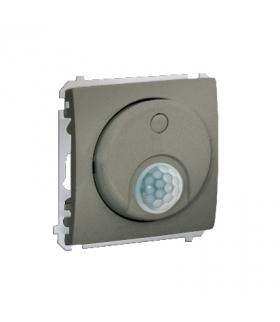 Łącznik z czujnikiem ruchu z przekaźnikiem platynowy, metalizowany MCR10P.01/27