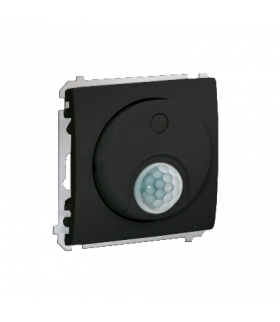 Łącznik z czujnikiem ruchu z przekaźnikiem grafit mat, metalizowany MCR10P.01/28