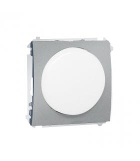 Sygnalizator świetlny LED - światło białe aluminiowy, metalizowany MSS/1.01/26