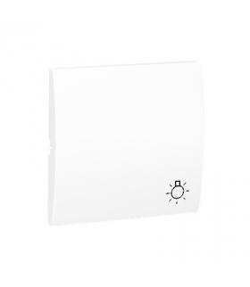 Klawisz pojedynczy do łączników i przycisków biały MKS1/11