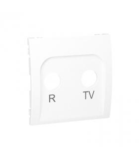 Pokrywa do gniazda antenowego R-TV końcowego i przelotowego biały MAP/11