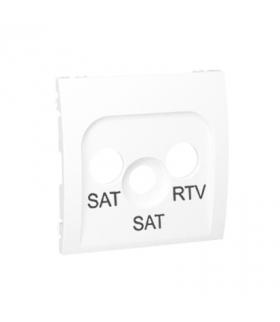 Pokrywa do gniazda antenowego SAT-SAT-RTV biały MAS2P/11