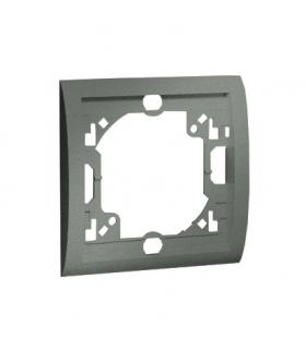 Ramka 1- krotna grafitowy, metalizowany MR1/25