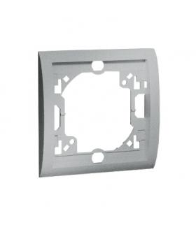 Ramka 1- krotna aluminiowy, metalizowany MR1/26
