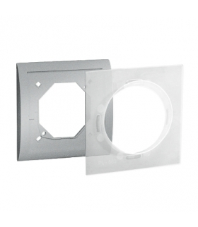 Ramka 1- krotna IP44 aluminiowy, metalizowany MR1B/26