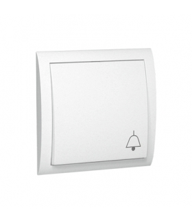 """Przycisk """"dzwonek"""" biały 10AX MD1/11"""
