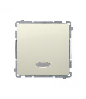 Łącznik jednobiegunowy z sygnalizacją załączenia z sygnalizacja załączenia LED nie wymienialny kolor niebieski (moduł) 10AX 250V