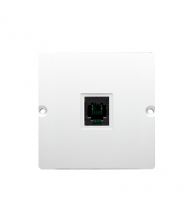 Gniazdo telefoniczne pojedyncze RJ11 (moduł) biały BMTU.01/11