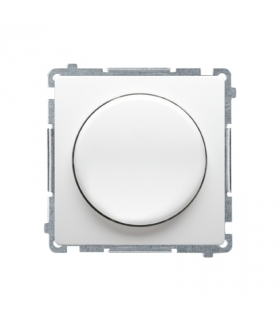 Ściemniacz do LED ściemnialnych, naciskowo-obrotowy, jednobiegunowy biały W układzie schodowymTak BMS9L.01/11