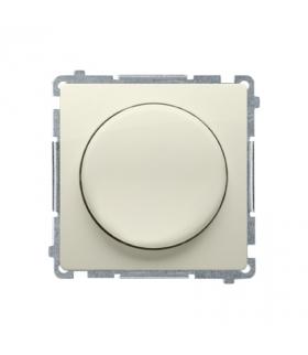 Ściemniacz do LED ściemnialnych, naciskowo-obrotowy, jednobiegunowy beżowy W układzie schodowymTak BMS9L.01/12